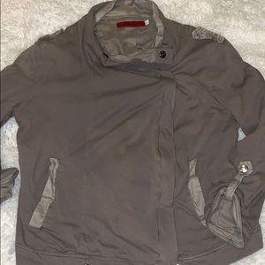 Akira Chicago Barney NY army green soft jacket L